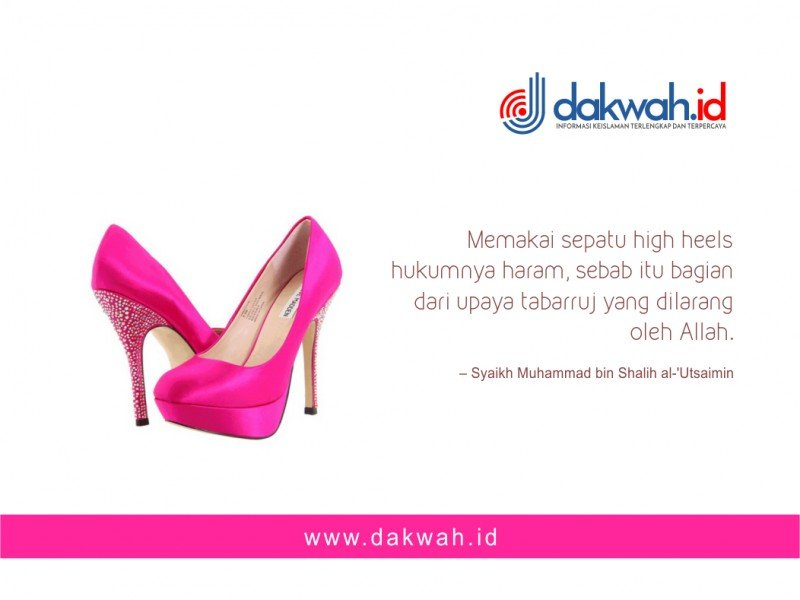 Sepatu High Heels Bikin Wanita Muslimah Tambah Cantik? Baca Dulu Penjelasan Ini