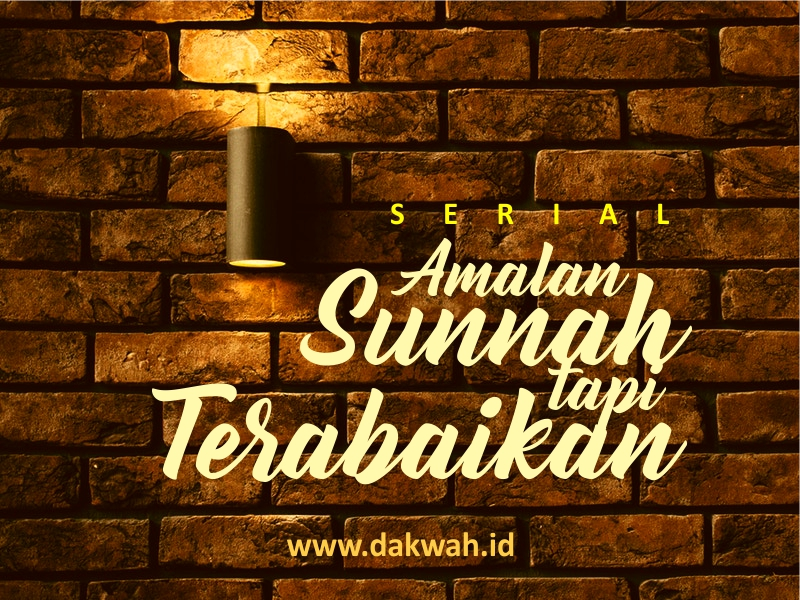 Sunnah tapi Terabaikan #1 Istinsyaq ketika Wudhu-dakwah.id