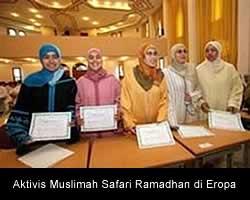 Aktivis Muslimah Safari Ramadhan di Eropa