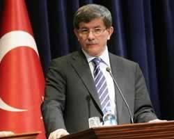 Ahmet Davut Oglu, Menlu Turki (AFP)
