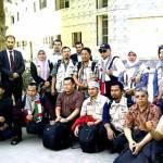 Alhamdulillah, tepat pukul 15.00 waktu setempat, Sabtu (12/5) semua relawan Indonesia yang tergabung dalam Asia Pacific (Aspac) for Palestine berhasil masuk ke Jalur Gaza. (knrp)