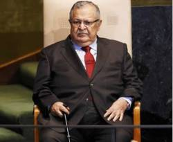 Presiden Irak Jalal Talabani. (yahoo.com)