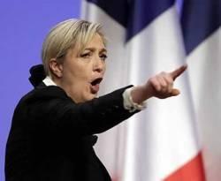 Politisi perempuan sekaligus pengacara dan anggota parlemen Eropa Marine Le Pen. (inet)