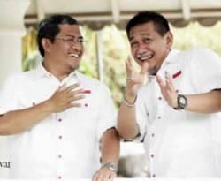 Pasangan Cabug-Cawagub Jabar Ahmad Heryawan dan Deddy Mizwar. (inet)