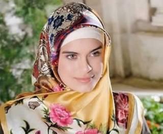 Ilustrasi - Kerudung gaya muslimah Turki. (inet)