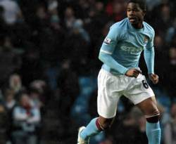 Gelandang muda Manchester City Abdul Razak. (inet)