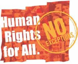 Ilustrasi - Human Rights for All, No Execptions. (ist)