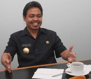 Walikota Depok, Dr. Ir. H. Nur Mahmudi Isma'il, MSc