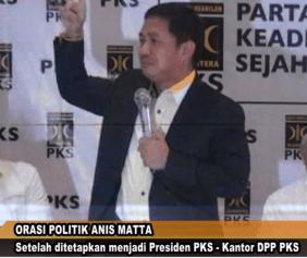 Presiden PKS, Anis Matta