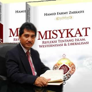 Hamid Fahmy Zarkasyi dan buku Misykat. (Nur Afilin)