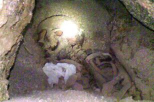 Temuan Fosil Manusia yang sudah menjadi batu (inet)