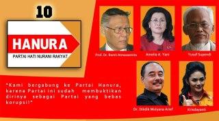 Poster Caleg Partai Hanura. (Facebook / hanura.official)