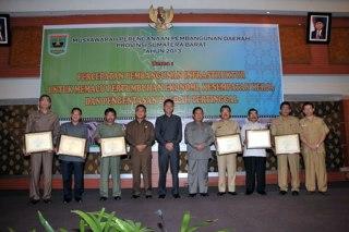 Musyawarah Perencanaan Pembangunan (Musrembang) Rencana Kerja  Pemerintah Daerah (RKPD) Provinsi Sumatera Barat tahun 2013 yang diadakan di Padang, tanggal 8-10 April 2013. (ist)