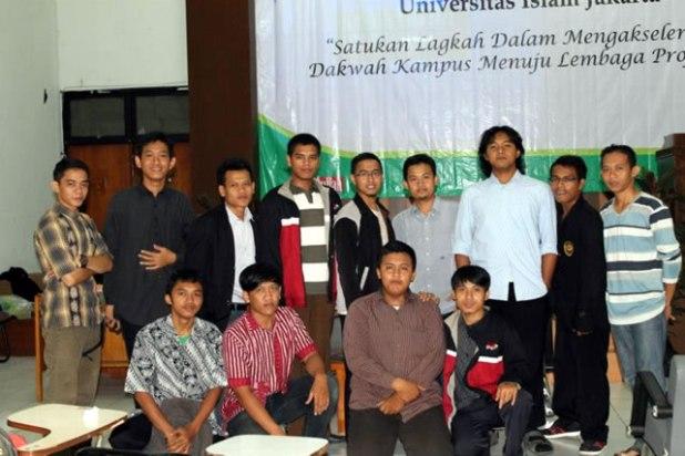 Musyawarah Besar Lembaga Dakwah Kampus Forum Ukhuwah dan Study Islam (FUSI) Universitas Islam Jakarta, Ahad (12/4/2013). (ist)