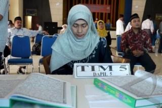 Tes Baca Al-Quran Bacaleg DPRA
