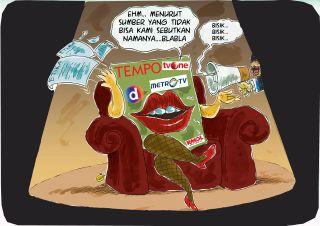 Ilustrasi Media Ghibah (doc. dakwatuna)