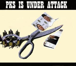 PKS under attach