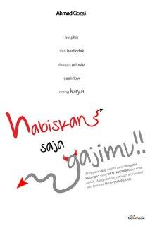"""Cover buku """"Habiskan Saja Gajimu!!""""."""