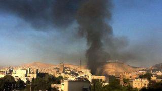 Serangan Udara Israel di Suriah (inet)