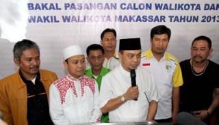 Tamsil-Das'ad , Balon Walikota/Wakil Walikota Makassar