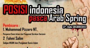 POSISI Indonesia pasca arab springs
