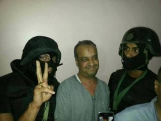 Muhammad Beltagi saat ditangkap (twsela.com)