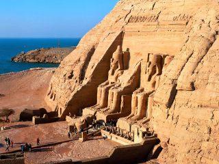 Situs Abu Simbel, di wilayah selatan Mesir (inet)