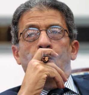 Amru Musa, ketua Komisi 50 yang diberi wewenang mengamandemen Konstitusi 2012 (inet)