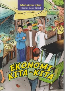"Cover buku ""Ekonomi Kita-Kita""."