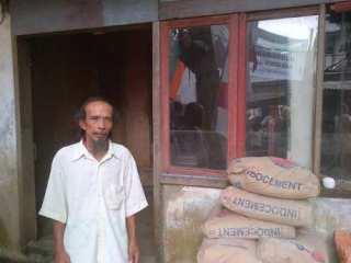 M Yasin, penerima bantuan Kemensos (foto: David/detikcom)