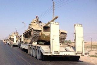 Militer mesir di Sinai (inet)