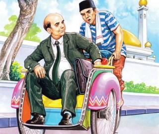 Tukang Becak (foto Ilustrasi: jurnalhajiumroh.com)