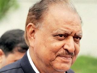Presiden Pakistan, Mamnoon Hussain