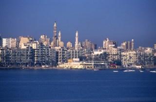 Kota Alexandria yang indah di pesisir laut Mediterania (inet)