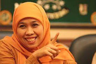 Ketua Muslimat NU, Khofifah Indar Parawansa