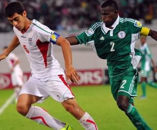 Musa Muhammed, Kapten Tim Nigeria U-17 (Kaus  Hijau)