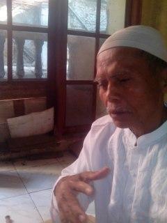 Hilman, saat ditemui tim BWA di kediamannya Jalan Bukit Duri Tanjakan Gang H Saiman RT 13/08 Bukit Duri, Tebet, Jakarta Selatan. (Dok BWA)