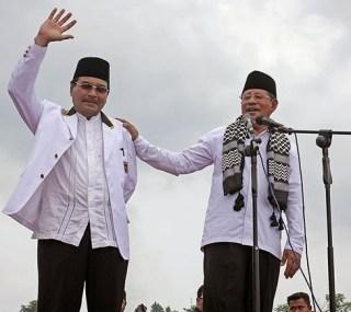 Pasangan Abdul Gani Kasuba - M. Nashir Thaib (AGK-Manthab) (Foto: humas pks)