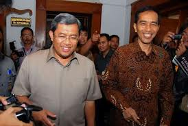 Gubarnur Jabar Ahmad Heryawan dan Gubernur DKI Joko Widodo  (foto: detik)
