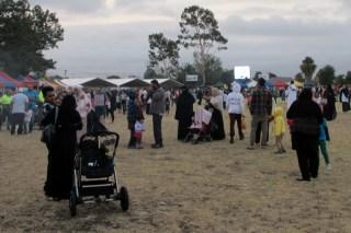 Festival ragam budaya di Glenroy, Australia untuk merayakan maulid hari Minggu (19/01/2014) (Foto: tribunnews.com)