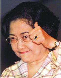 Ketua Umum PDI Perjuangan, Megawati Soekarno Putri.  (inet)