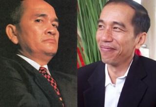 Politisi Demokrat Ruhut Sitompul dan Gubernur DKI Jakarta Joko Widodo (Foto: lensaindonesia.com)