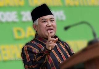 Din Syamsuddin Resmi ketua Umum MUI,  - Foto: solopos.com