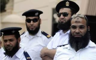 Polisi-polisi yang berjenggot di Mesir pasca Revolusi 25 Januari 2011 (islammemo)