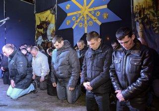 Polisi Ukraina meminta maaf kepada rakyat di kota Lviv (rassd)