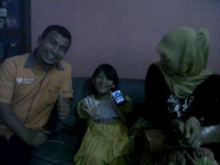 Keceriaan Aisyah ketika di kunjungi Tim Rumah Zakat Medan - Foto: RZ