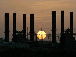 Pembangkit listrik di Jalur Gaza (aljazeera)