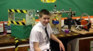 Jamie Edwards, ahli fusi nuklir termuda di dunia - Foto: liputan6.com