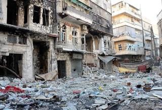 Kehancuran Suriah selama 3 tahun krisis (aa.com.tr)