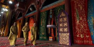 Wisata Syariah berupa Arsitektur di dalam Istano Basa Pagaruyung, Nagari Pagaruyung, Kabupaten Tanah Datar, Sumatera Barat - Foto: kompas.com